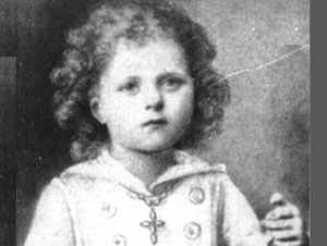 St. Therese as a small child.